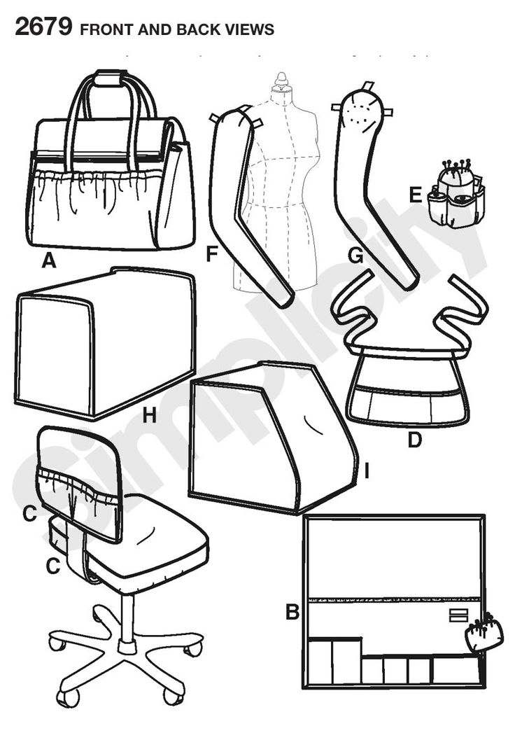 15 best images about Sewing machine tote on Pinterest