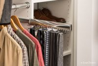 Slide-Out Tie Rack | Sort your daily neckwear on a slide ...
