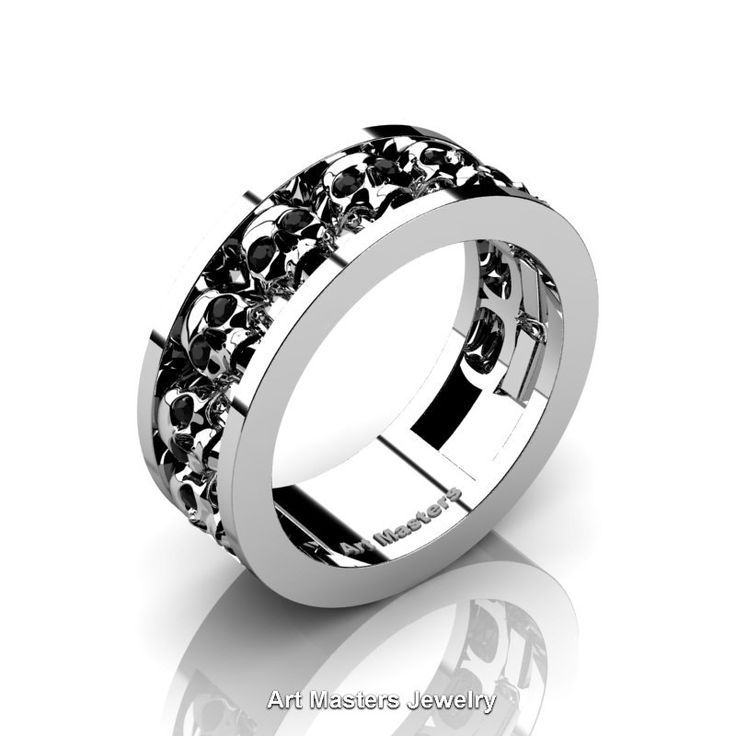 1000 ideas about Skull Wedding Ring on Pinterest  Rings