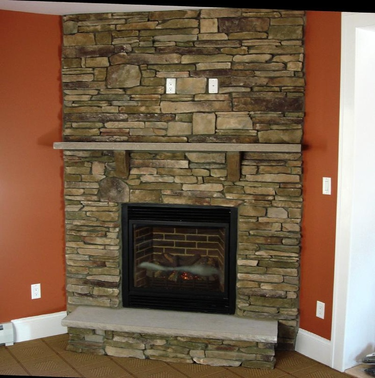 Southern Ledgestone in Bucks County  Beyond the Welcome Mat  Pinterest  To be Hearth and The