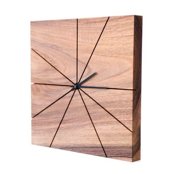 Wanduhr Holz Dunkelbraun # Deptis.com > Inspirierendes