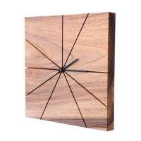 Wanduhr Holz Dunkelbraun # Deptis.com > Inspirierendes ...