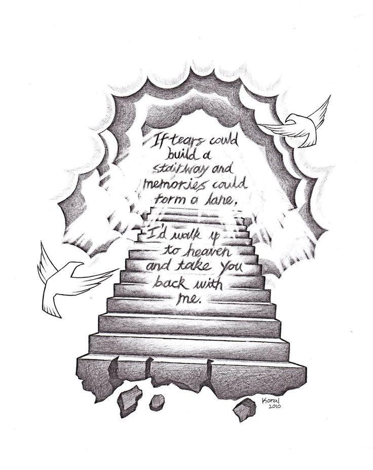 10 Best ideas about Stairway To Heaven Tattoo on Pinterest