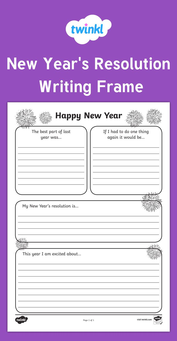 1000+ Images About Activities For New Year's On Pinterest  New Year Goals, For Kids And Resolutions