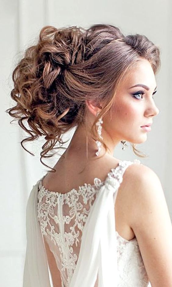 25 Best Ideas About Curly Updo Hairstyles On Pinterest Updo