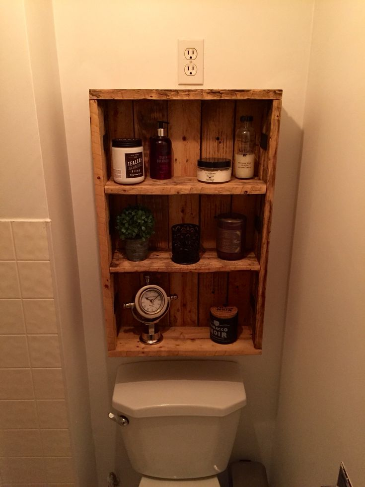 Rustic Medicine Cabinet  Repurposed Pallet Wood  Bathroom ideas  Pinterest  Medicine
