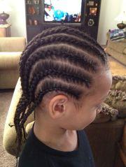 little black boys with long hair
