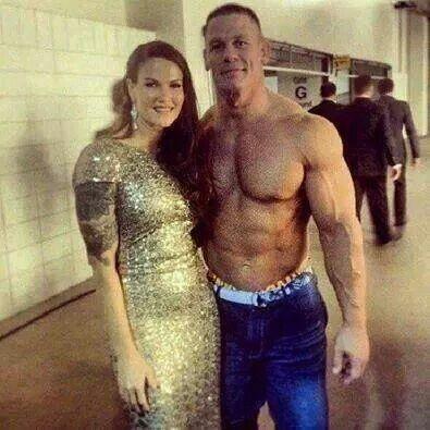 Wallpaper Sioux Falls Amy Dumas Aka Lita With John Cena My Heroes Idols