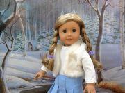 american girl doll blonde hair