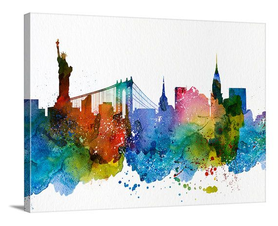 17 Best ideas about New York Skyline Silhouette on