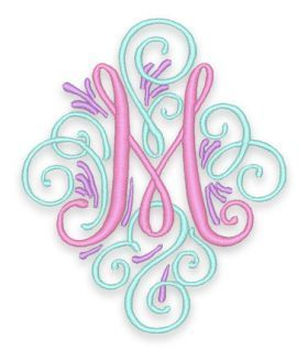 25 best ideas about Embroidery Monogram on Pinterest