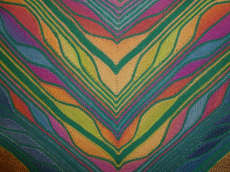 Butterfly Shawl Knit Pattern