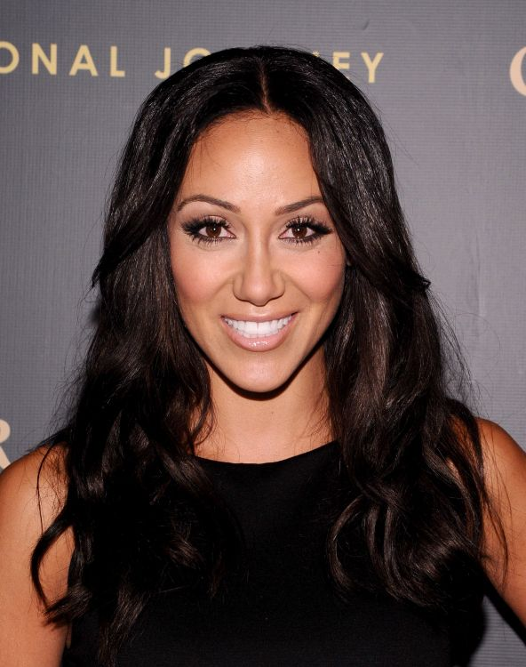 Melissa Gorga Dyes Hair Back To Brunette Photos