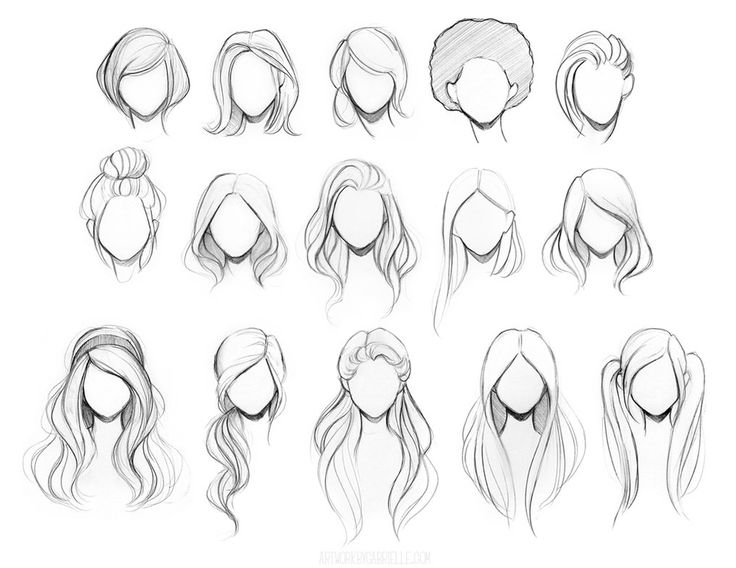Best 20+ Drawing Hair Tutorial ideas on Pinterest