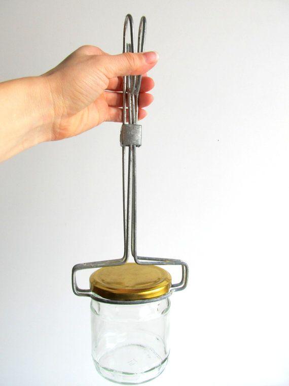 kitchen tongs island with casters soviet vintage jar lifter, hot bottle holder, jam ...
