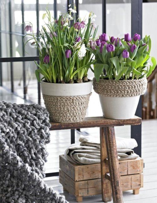 25 Best Ideas About Decorated Flower Pots On Pinterest Mod