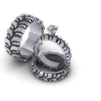 Mud tire rings | Wedding | Pinterest | Mud and Rings