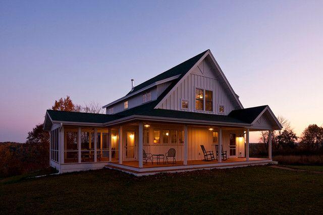 Unique Farmhouse For Mid-Size Family W/ Porch (Plans