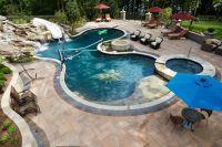 Amazing Free Form Pool design #freeform #swimmingpool # ...