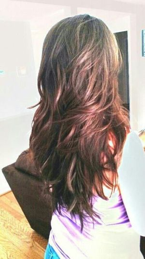 LL – Cant wait till my hair is long again! Long layered hair!