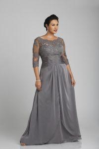 25+ best ideas about Silver Plus Size Dresses on Pinterest