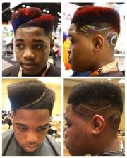 high-top fade with juice