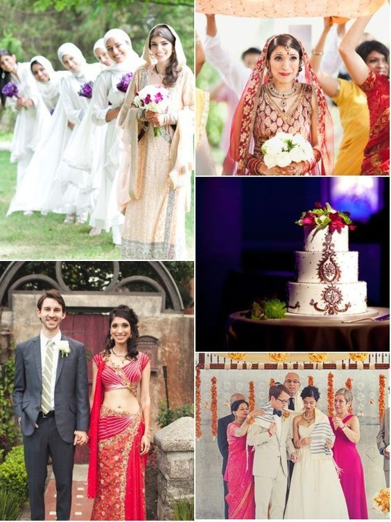 1000 ideas about Indian Fusion Wedding on Pinterest