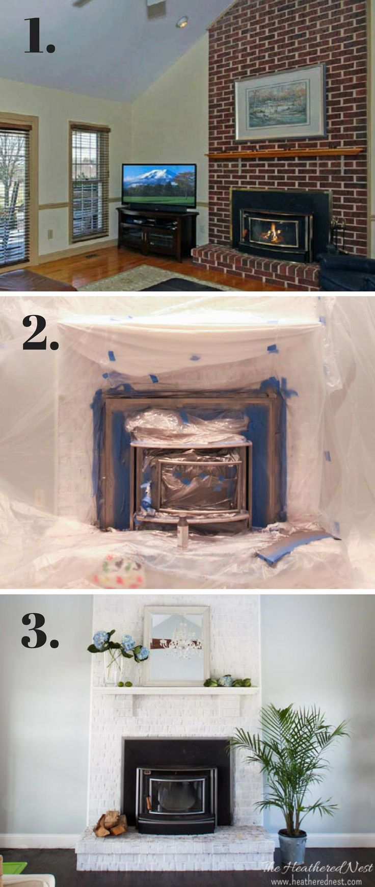 1000+ ideas about Painting A Fireplace on Pinterest