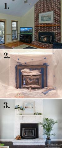 1000+ ideas about Painting A Fireplace on Pinterest ...