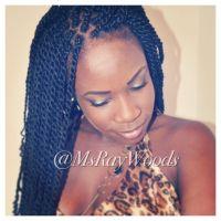Small Marley Twists w/Marley Braiding Hair #marleytwists # ...