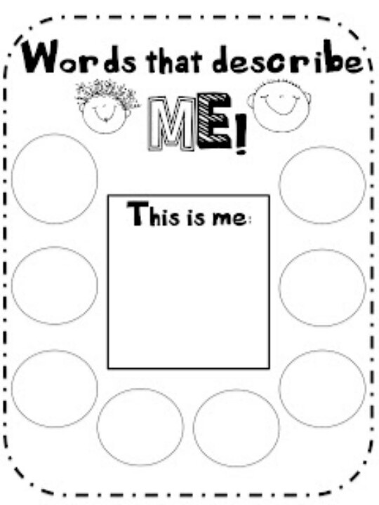 17 Best images about I am special- preschool on Pinterest