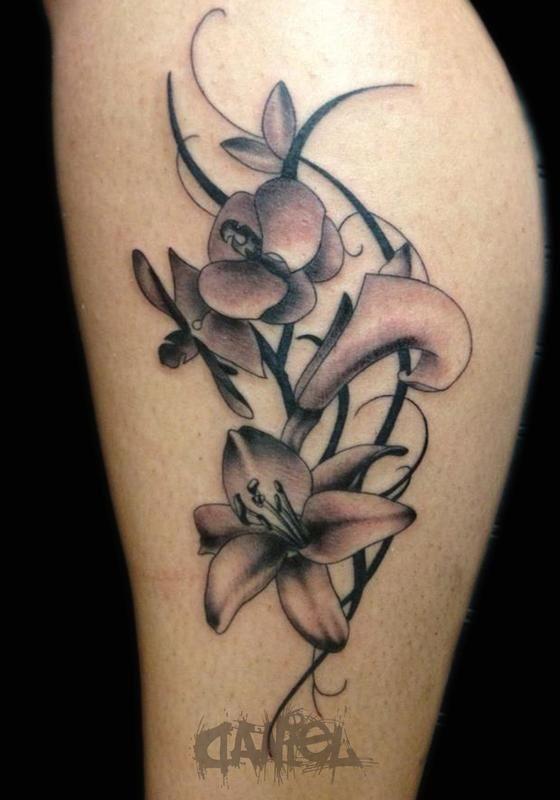 flower vine tattoos ideas