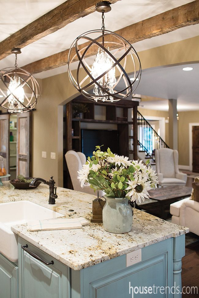 One of the hottest lighting trends today, orbital pendants are showing up all over homes. Check out some o