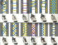 Different ways to tie shoes. | shoelaces | Pinterest ...