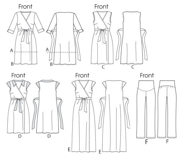 25+ best ideas about Maternity dress pattern on Pinterest