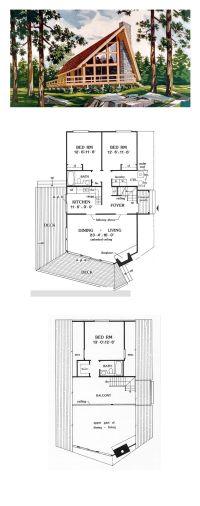 Best 25+ A frame house plans ideas on Pinterest