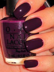 black swan - opi nail polish