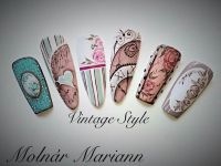 1000+ ideas about Vintage Nail Art on Pinterest | Vintage ...
