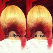 2 tone bob wigs and weave