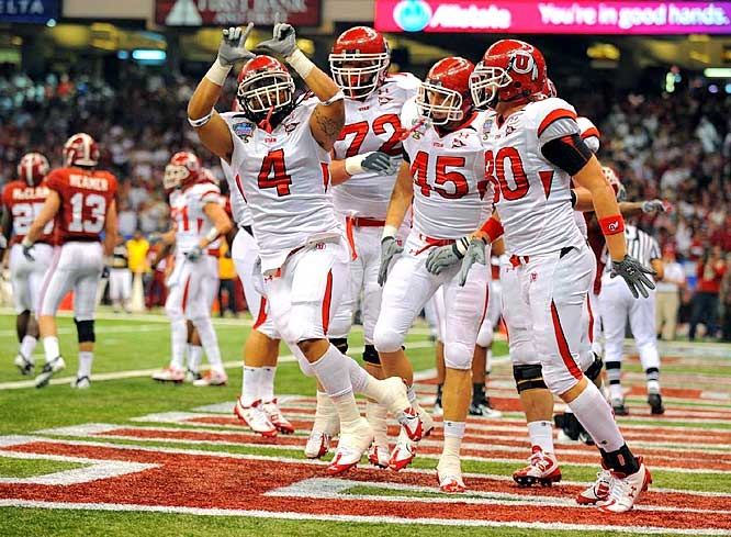 Image result for utah beats alabama sugar bowl