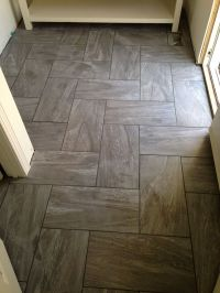 12x24 porcelain floor . ... | Bathroom | Pinterest | Tile ...