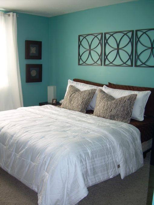 Best 25 Aqua blue bedrooms ideas on Pinterest