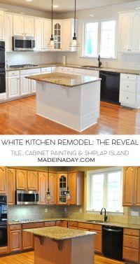 25+ best ideas about White kitchen cabinets on Pinterest ...