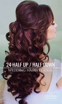 Best 20+ Half up half down wedding hair ideas on Pinterest