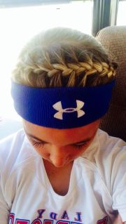 softball hairstyles ideas