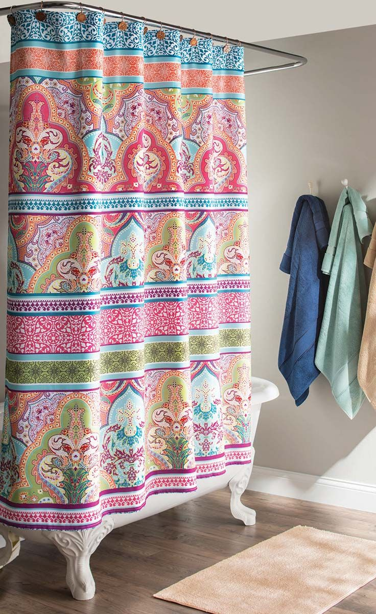 Great Deals On Shower Curtains   65 Best Images About Boost Your Bathroom  On Pinterest Walmart. Better Homes And Gardens Shower Curtains