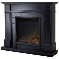 1000+ ideas about Black Fireplace Mantels on Pinterest ...