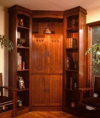 Corner Liquor Cabinet Furniture - WoodWorking Projects & Plans