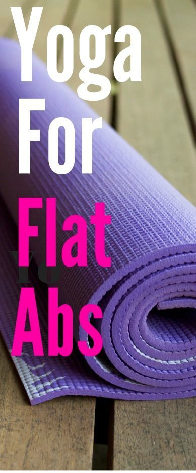 Did you know that yoga can also land you a strong core and enviable abs? Yep, yoga is basically a superhero:)