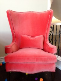 1000+ ideas about Coral Chair on Pinterest | Bright living ...